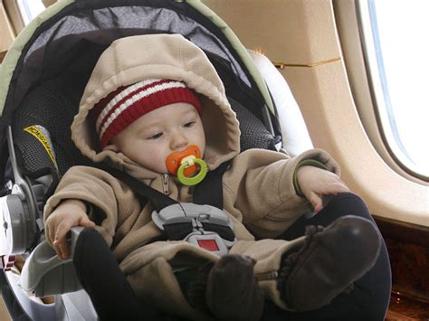 Using A Car Seat On A Plane