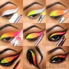 1000 ideas about Neon Eyeshadow on Pinterest