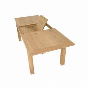 Table Extensible Salle A Manger : table repas extensible en teck ankor ~ Teatrodelosmanantiales.com Idées de Décoration
