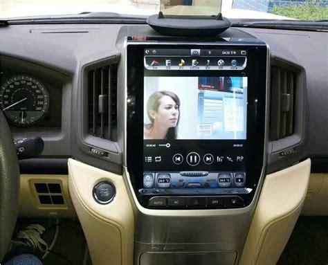 vertical screen android navi radio toyota land