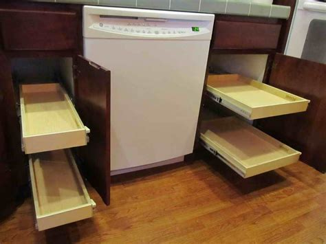 installing pull out drawers in kitchen cabinets pull out cabinet shelves ideas home ideas collection 9618