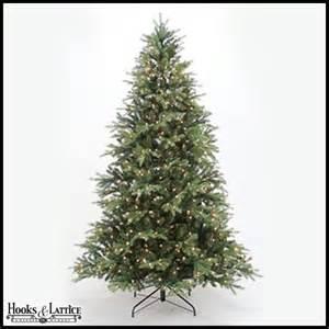 7 5 ft pre lit spruce trees hooks and lattice