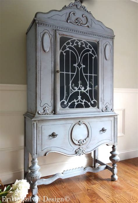 hutch vintage custom finish for anh corey antique jacobean painted