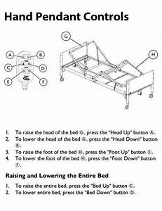 Invacare Manual Hospital Bed 5307ivc 5307ivc