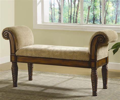 modern upholstered bench