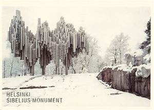 A Postcard a Day: Sibelius in the snow