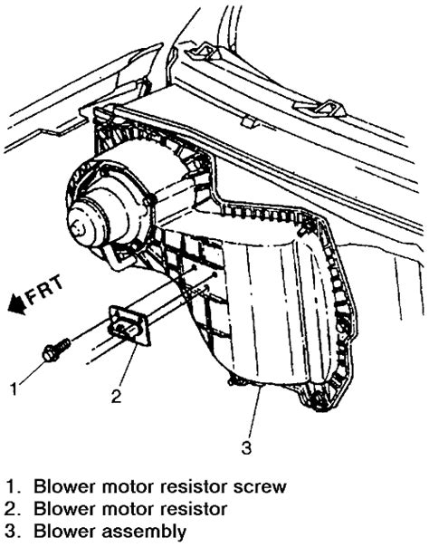 1980 Chevy Heater Resistor Wiring Diagram by Repair Guides Heating And Air Conditioning Blower