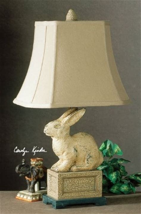 Bunny Lamps designer country french rabbit lamp antique style by