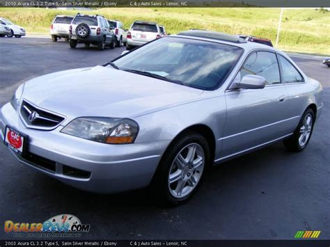 2003 Acura Cl Type S by 2003 Acura Cl 3 2 Type S Satin Silver Metallic