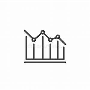 Decrease Diagram Stock Vector  Illustration Of Chart