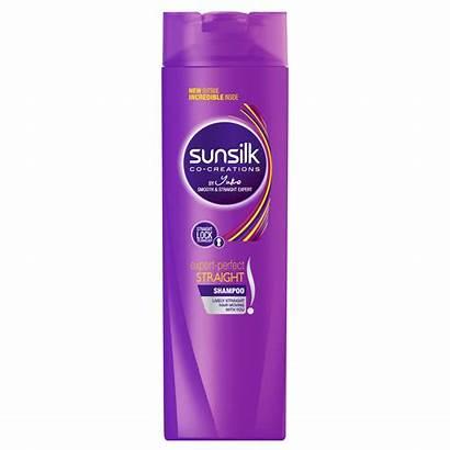 Shampoo Straight Perfect Sunsilk Hair 180ml Bottle