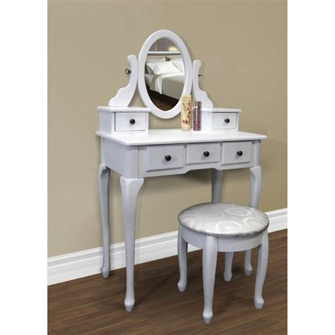 white vanity table set jewelry armoire makeup desk bench drawer pin by brook kern on for the home pinterest