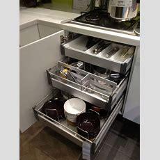 Kitchen Smart Kitchen Storage Ideas With Stainless Steel