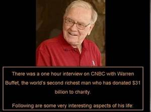 One of the Richest Men in the World Shares His Wisdom (11 ...
