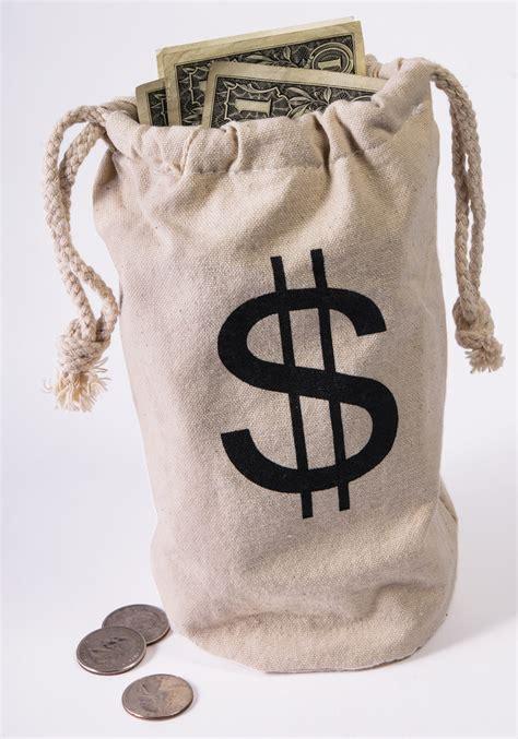 bank vault bag robber gangster cowboy costume accessories