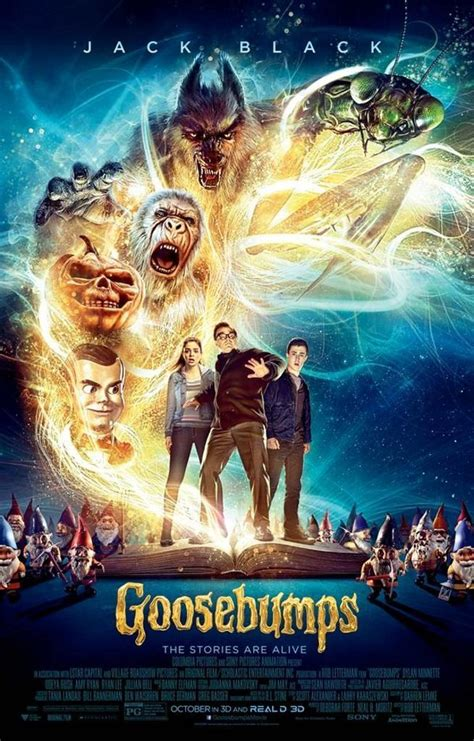 'goosebumps' 2015 Movie Trailer Released; Rl Stine