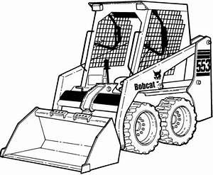 Bobcat 553 Skid