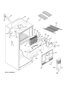 Parts For Ge Gts18tbsaww Refrigerator Appliancepartsproscom