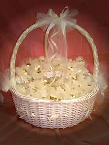 decoration de corbeille dootdadoocom idees de With tapis chambre bébé avec panier fleur mariage
