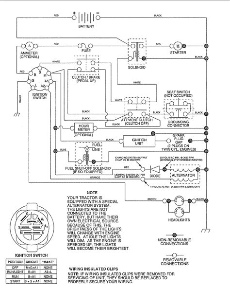 craftsman lt 1000 wiring diagram webtor me