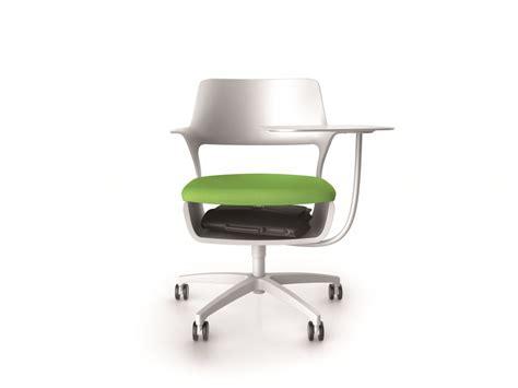 siege ordinateur fauteuil avec tablette écritoire pour réunions modulables