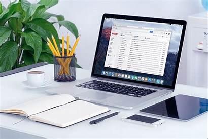 Computer Office Laptop Google Gmail Simple