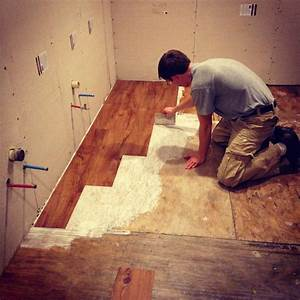 Can i put vinyl tile on top of vinyl sheet flooring for How to install glue down vinyl plank flooring