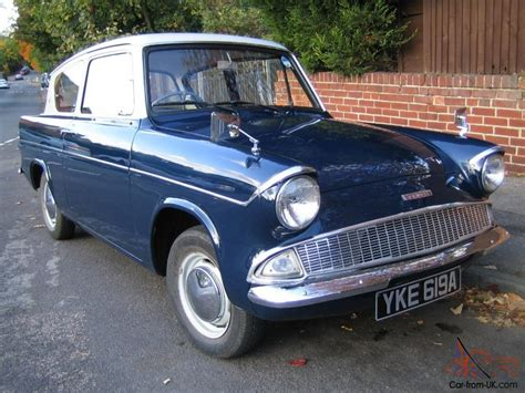 Original Ford Anglia 105e, 1963 Owned For 26 Years