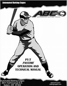 Service Manuals  U2013 U2013 Automated Batting Cages Resources