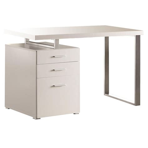 bw it help desk modern desks carey white desk eurway furniture