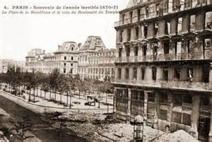 destructions sous la commune de