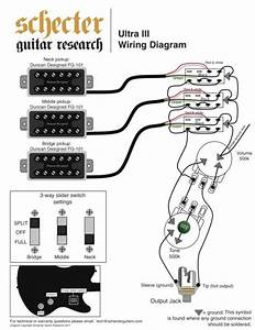 Wiring For Schecter Ultra Iii  P