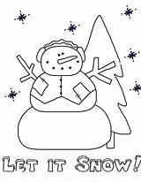 Coloring Snow Let Printable Getcolorings Northpolechristmas Getdrawings sketch template