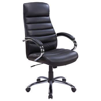 costco office chair tygerclaw modern executive high back office chair 32847