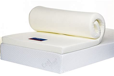 Bodymould Memory Foam Mattress Topper With Cover