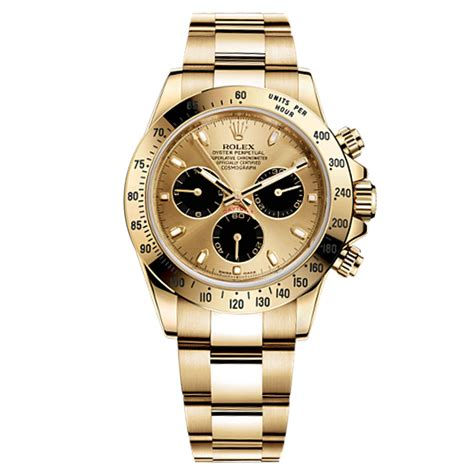 FS: Rolex Cosmograph Daytona Champagne Dial 18kt Yellow ...