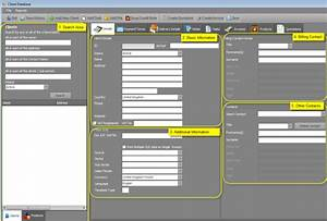 3 excel client database templates excel xlts With customer service database template