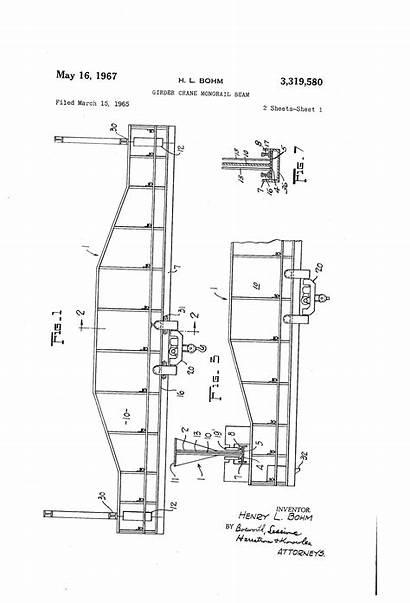 Patents Crane Monorail Beam Girder