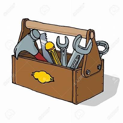 Toolbox Tool Clipart Kit Vector Maintenance Tools