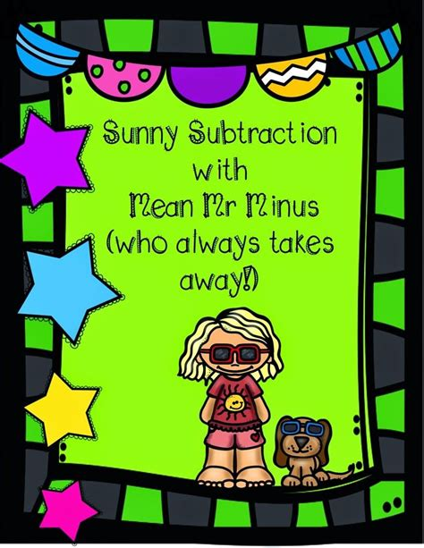 sunny subtraction   mister   images