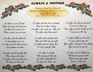 Homes & Lifestyles Images: Religious Mother's Day Poems