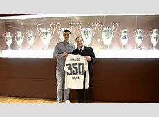 Friends again? Cristiano Ronaldo celebrates 350 Real