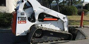 Bobcat T300 Turbo High Flow Track Loader Service Repair