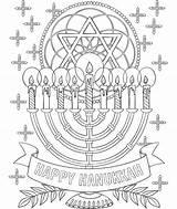 Coloring Hanukkah Pages Menorah Collage Happy Crayola Print Printable Cell Drawing Animal Simple Getcolorings Getdrawings sketch template