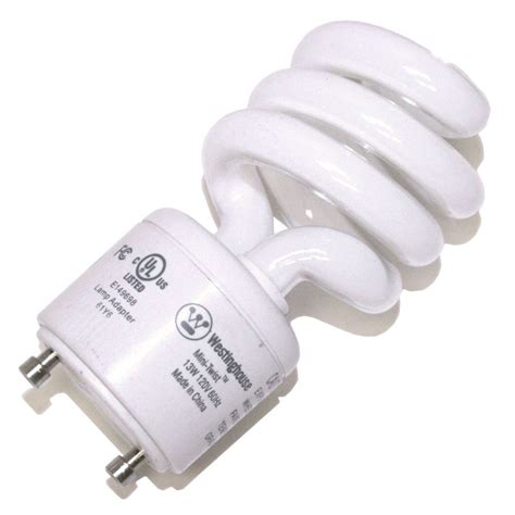 westinghouse lighting 13w cfl gu24 base light bulb home