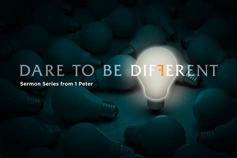 Dare to be Different | Part 1 - Our Savior