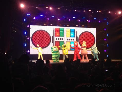 Gabba Gabba Live - why your will yo gabba gabba live honey lime