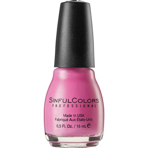 sinful colors professional sinful colors professional nail pink forever big w