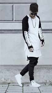 Urbanflavours swag black and white fashion on lock   urban ...