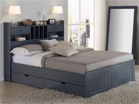 lit avec rangement lit 160 215 200 avec rangement luxe lit mederick avec